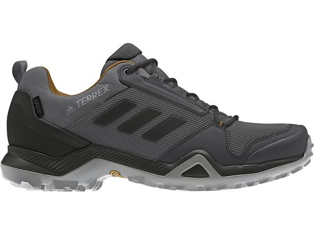 vena Chicle basura  adidas TERREX AX3 Gore-Tex Zapatillas Senderismo Resistente al Agua Hombre,  grey five/core black/mesa   Campz.es